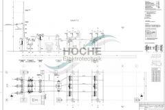 Primärkonstruktion | 110kV-Leitungsfeld