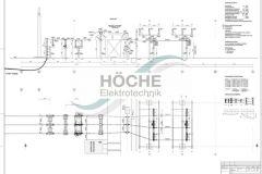 Primärkonstruktion | 110kV-Kabelfeld