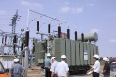 Abnahme Umspannwerk (Windpark)